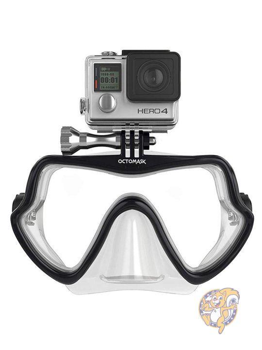 オクトマスク Octomask フレームレス GoPro Hero 3+ 互換 スキューバ マスク クリアー 並行輸入画像