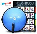 BOSU バランストレーナー ホームバージョン 青 65cm  Bosu Balance Trainer 家庭用エクササイズ トレーニング器具 ダイエット リハビリ 並行輸入品