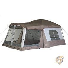 ウェンゼルWenzelKlondikeクロンダイク8人用テントグレータープ大型アウトドアキャンプ並行輸入品