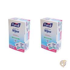 ピュレルPURELL除菌ウェットティッシュ個包装100枚サニタイジング除菌シート使い切り除菌ウェットティッシュ持ち運びジェル除菌おしぼり手洗いアメリカPURELL製品使い捨て