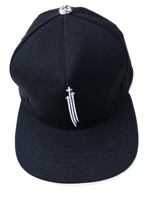 メンズ帽子, キャップ CHROME HEARTSBLACK DENIM black