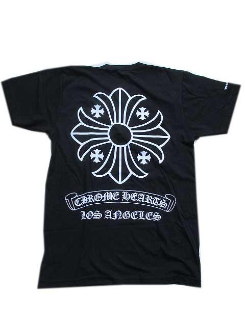 CHROME HEARTSクロムハーツオリジナルボディーロサンゼルス限定モデルTシャツ black:AMERICAN DREAM