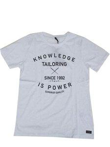 SSEINSEセンスKNOWLEDGE Tシャツ WHITE