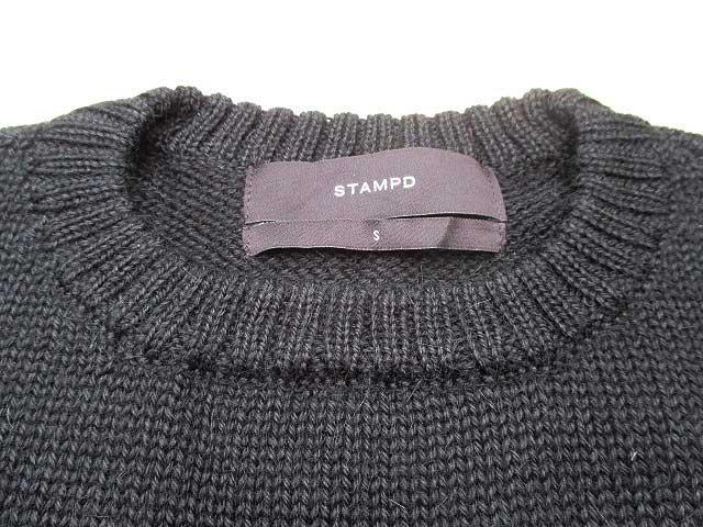 STAMPD スタンプド SHAUN SWEATER blackニット
