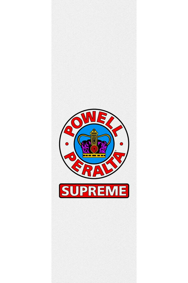 パーツ, その他 POWELL PERALTA 9in x 33in SUPREME WHITE SHEET sk8 skateboard1809