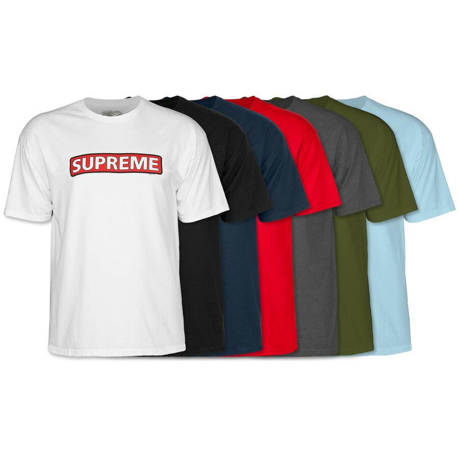 トップス, Tシャツ・カットソー POWELL PERALTA SUPREME SS T-SHIRTT sk8 skateboard 20SS(CP)