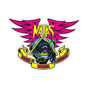 【SANTA CRUZ サンタクルーズ】NATAS PANTHER DECAL 4.625 in x 3.5 inステッカー ナタスパンサー ナタス・カウパス デカール シール スケートボード スケボー sk8 skateboard