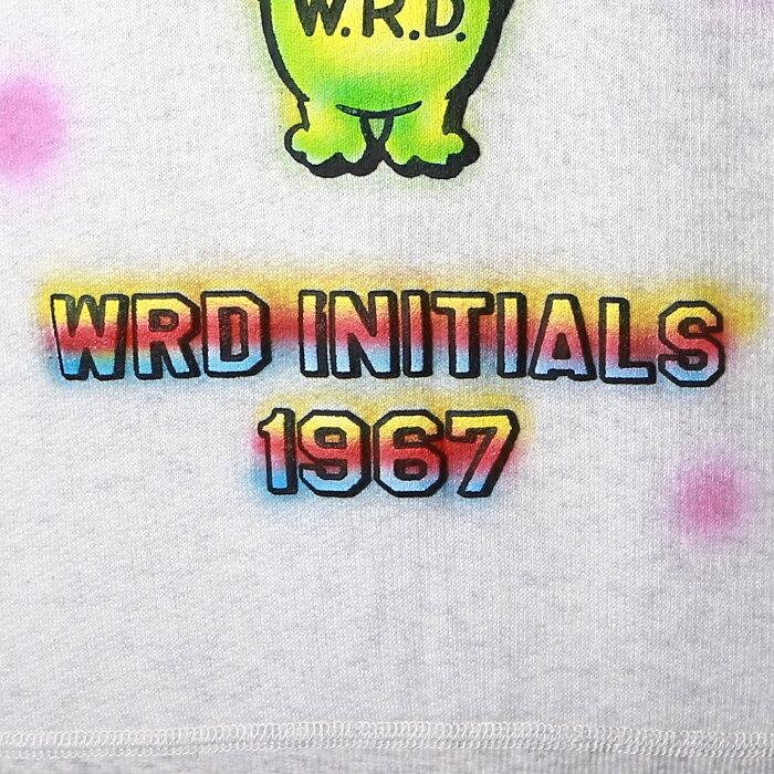 WEIRDO ウィアード / 「WEIRDO INITIALS- SWEAT」 オリジナルエアブラシスウェット / MEN'S メンズ / クルーネック / エアブラシ / ハンドペイント / ヴィンテージ / 長袖 / カジュアル / アメカジ