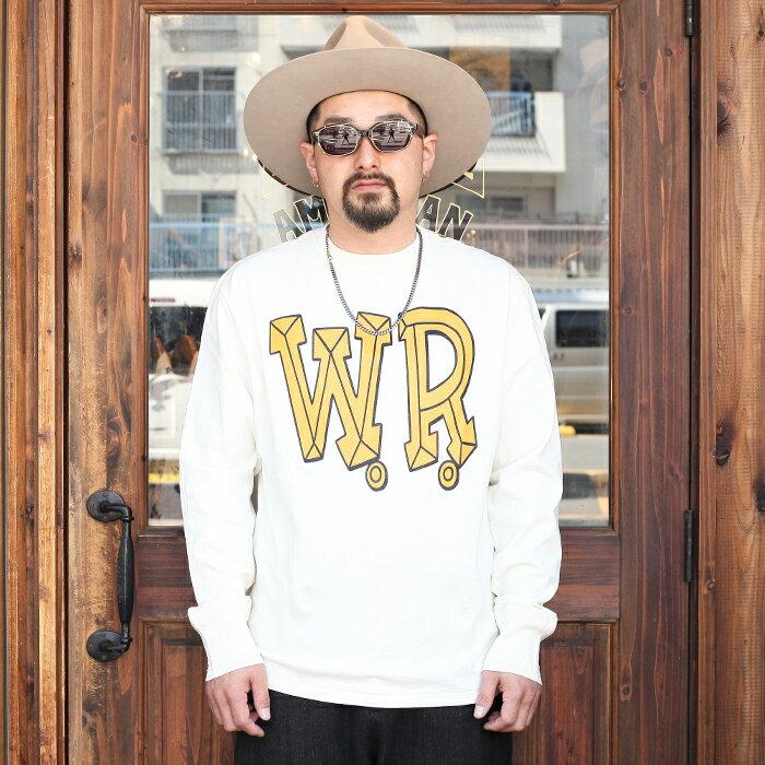 トップス, Tシャツ・カットソー WEIRDO BIG W.R. - LS T-SHIRTS LS TEE MENS T