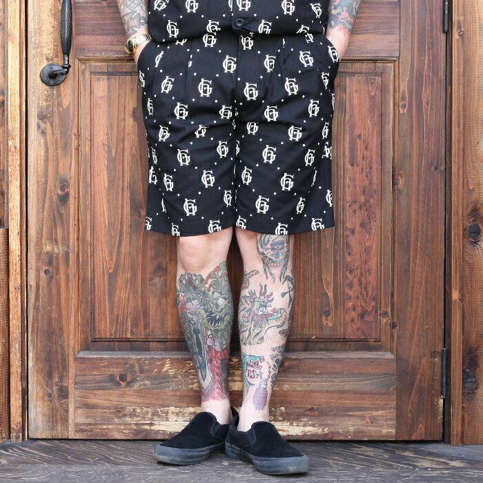 メンズファッション, ズボン・パンツ GLAD HAND FAMILY CREST - SHORTS 10 MENS