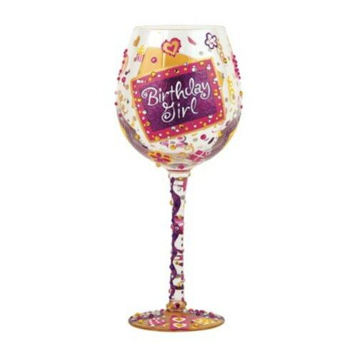 Lolita Wine Glass, Birthday Girl /ロリータ ワイングラス、バースデーガール (ブルゴーニュタイプ)