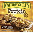 ネイチャーバレー プロテインバー ピーナッツ アーモンド&ダークチョコレート 5本入り Nature Valley Peanut, Almond & Dark Chocolate Protein Bars