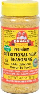 Bragg Premium Nutritional Yeast Seasoning  4.5 oz  ブラグ プレミアム ニュートリショナル イーストシーズニング 127g