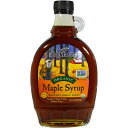 Coombs Family Farms Organic Maple Syrup Grade A 12 oz 354ml Coombs Family Farms オーガニック メープルシロップ グレードA 12oz 354ml 【訳あり/少量の液漏れ/賞味期限 2018年8月4日まで】