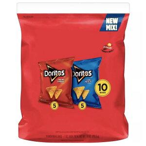 Doritos Mix of Nacho Cheese & Cool Ranch Tortilla Chips / ドリトス ナチョチーズ味 & クールランチ味 トルティーヤチップス 10袋セット 283.5g(10oz)