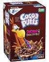 【訳あり/賞味期限2021年6月21日】General Mills Cocoa Puffs Chocolate Cereal ゼネラルミルズ ココアパフ チョコレート シリアル 2箱入り (39.25 oz)