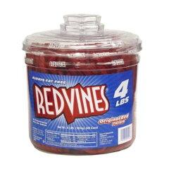 アメリカの味!懐かしの味!レッドバインズ大増量★Red Vines レッドバインズ オリジナルレッドツ...