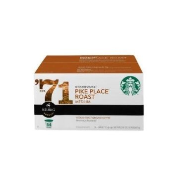 Starbucks Pike Place Roast K-Cup Portion Pack K-カップ スターバックス パイクプ...