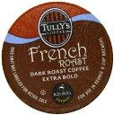 キューリグ Kカップ タリーズコーヒーフレンチロースト 90個 KEURIG Tully's French Roast K-cups, 90-Count