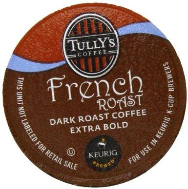 キューリグ Kカップ タリーズコーヒーフレンチロースト 90個 KEURIG Tully's French Roast K-cup...