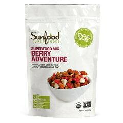 今話題のオーガニックパウダー !!Sunfood Superfood【お取り寄せ】Sunfood Mix Berry Adventu...