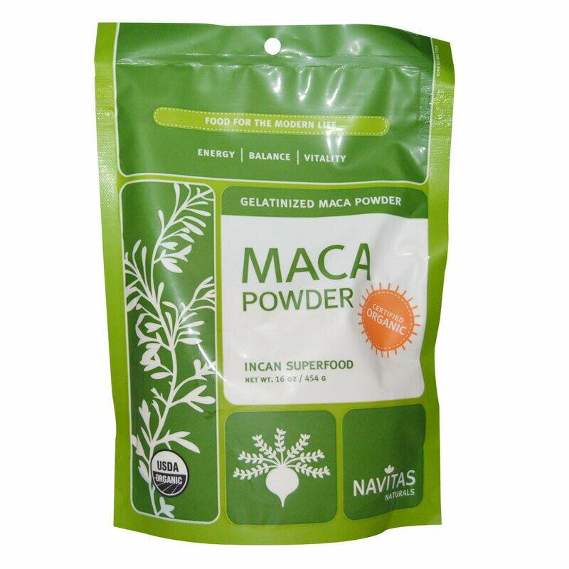 食品, その他  Navitas Naturals, Gelatinized Maca Powder 16oz (454g)