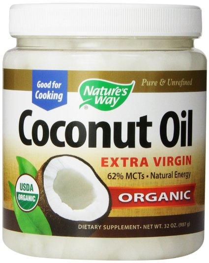 食品, その他  32oz907g Natures way organic extra virgin coconut oil