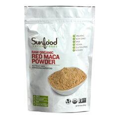 【お取り寄せ】Red Maca Powder 227g Sunfood Superfood サンフードレッドマカパウダー