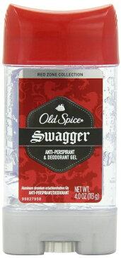 気分爽快・ジェルタイプ! Old Spice オールドスパイス RED ZONE Swagger デオドラント(スワッガー)GEL 107g (3.8oz)