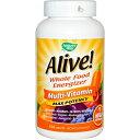 アライブ・マルチビタミン 180錠 - NATURE'S WAY Alive! Multi-Vitamin Max Potency 180 tablets