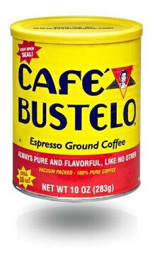 カフェバステロ キューバスタイル エッスプレッソ グランド コーヒー 283g /Cafe Bustelo Espresso Ground Coffee 10 Oz Can
