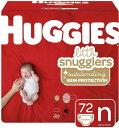 ハギーズ ベビーおむつ Huggies 新生児 サイズN 4.5kg テープタイプ 72枚入 低刺激 アメリカーナがお届け!