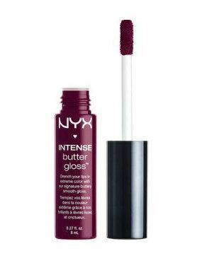 NYX Intense Butter Gloss /NYX インテンス バターグロス 色[10 Black Cherry?Tart ブラックチェリータルト]