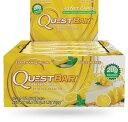 クエストバー プロテインバー レモンクリームパイ 12本入り/ Quest Bar Protein Bar Lemon Cream Pie Flavor 12ct