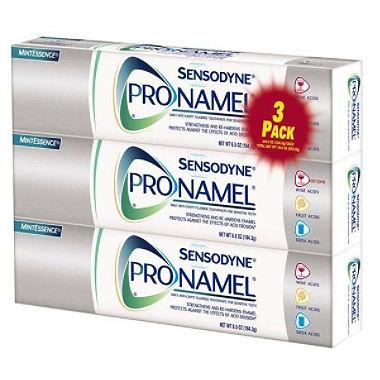 【お得な3本セット】センソダイン プロナメル ミントエッセンス 歯磨き粉 Sensodyne Pronamel Mint Essence Toothpaste 6.5 oz.