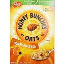 【訳あり/賞味期限:21年6月14日まで】ハニーバンチズ オブ オーツ ハニーロースト 特大パック1.36kg Post Honey Bunches of Oats Honey Roasted 3lb