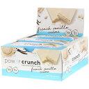 パワークランチ プロテインバー フレンチバニラクリーム 12本セット(Power Crunch French Vanilla Creme ) その1