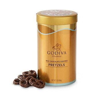 ゴディバ ミルクチョコレート カバード プレッツェル 454g /GODIVA Milk Chocolate Covered Pretzel 1lb
