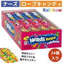 ナーズロープキャンディ 24個  Nerds Rope Ra