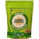 【訳あり】Florida Crystals Organic Cane Sugar 32oz / フロリダクリスタルズ オーガニックケーンシュガー 907g【在庫限り・特別商品】