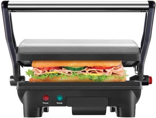 ホットプレート・グリル・フライヤー, その他 Chefman Electric Panini Press Grill and Gourmet Sandwich Maker RJ02-180 2