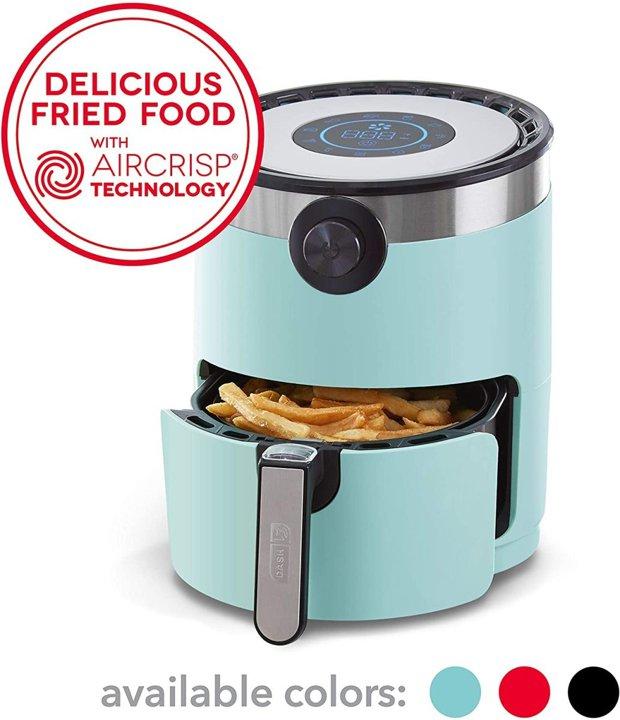 キッチン用品・食器・調理器具, その他  DASH DCAF155GBAQ02 2.8AirCrisp Pro !
