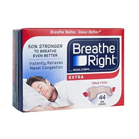グラクソスミスクライン ブリーズライト エクストラ タン 44枚入 / GlaxoSmithKline Breathe Right Extra 44 Tan Strips