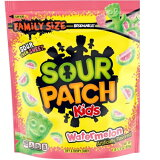Family Size Sour Patch Watermelon Soft & Chewy Candy / ファミリーサイズ サワーパッチ ソフト&チューイー グミ キャンディ ウォーターメロン(スイカ味) 28.8oz(816g)