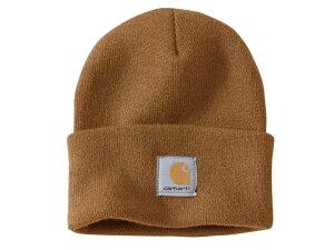 ニットキャップ ニット帽 ビーニー ワッチキャップ メンズ レディース 帽子 カーハート/Carhartt Acrylic Watch Cap
