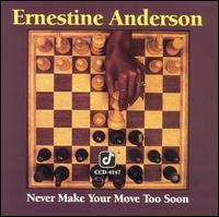【輸入盤CD】【ネコポス100円】Ernestine Anderson / Never Make Your Move Too Soon (アーネスティン・アンダーソン)