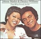【輸入盤CD】【ネコポス100円】Johnny Mathis & Deniece Williams / That's What Friends Are For (ジョニー・マティス)