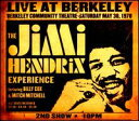 【輸入盤CD】Jimi Hendrix / Jimi Hendrix Experience Live At Berkeley (ジミ・ヘンドリックス)