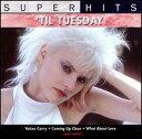 【メール便送料無料】Til Tuesday / Super Hits (輸入盤CD)(ティル・チューズデー)