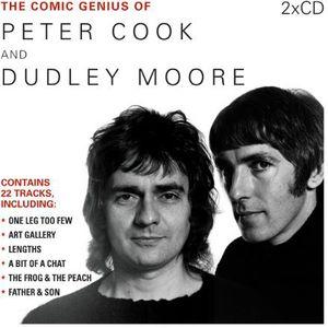 【輸入盤CD】【ネコポス送料無料】Peter Cook/Dudley Moore / Comic Genius Of Peter Cook & Dudley Moore
